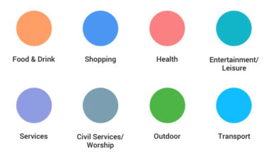 New Google Maps POI Colors